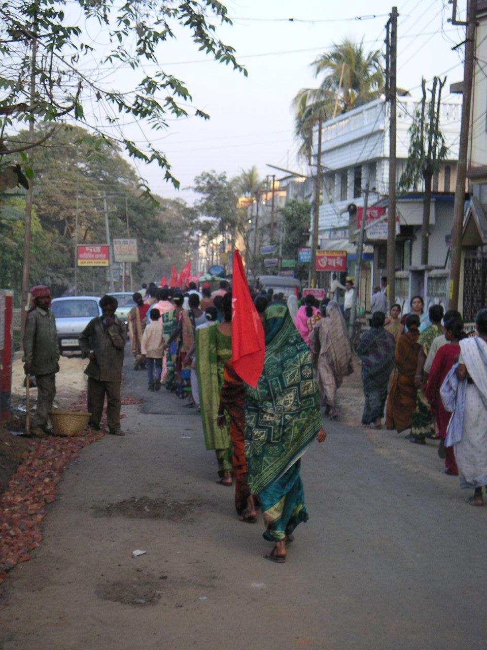 CPI(M) rally in Agartala