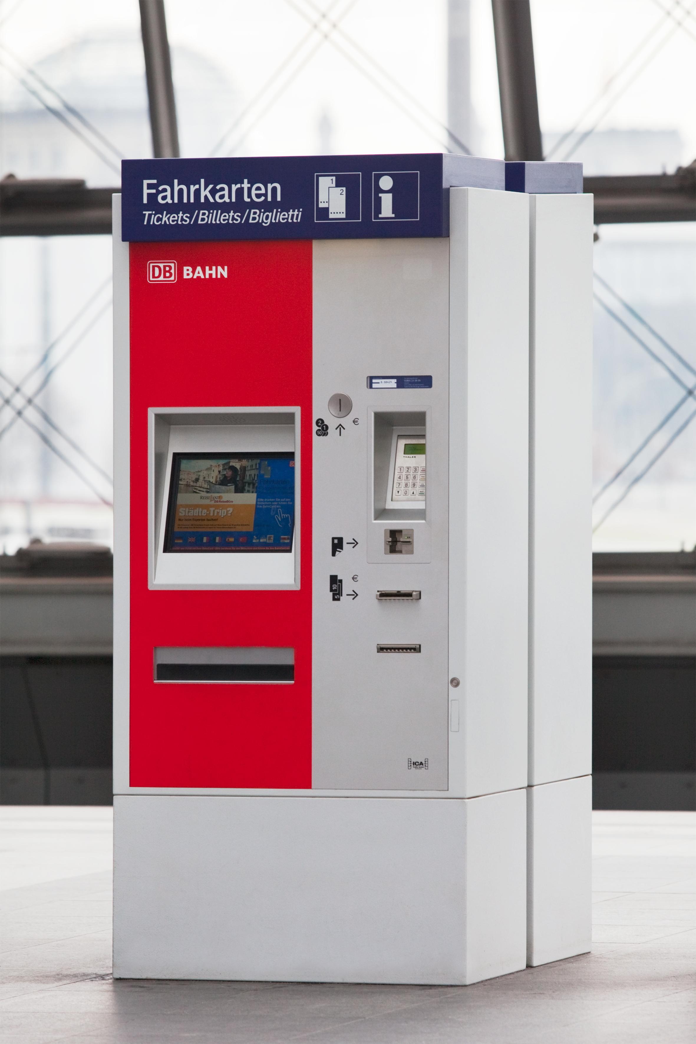 bahn automat
