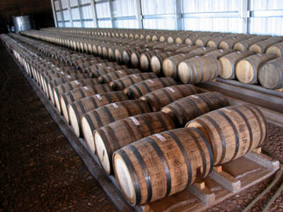 Barrel room for aged (anejo) tequila EL TEQUILA.jpg