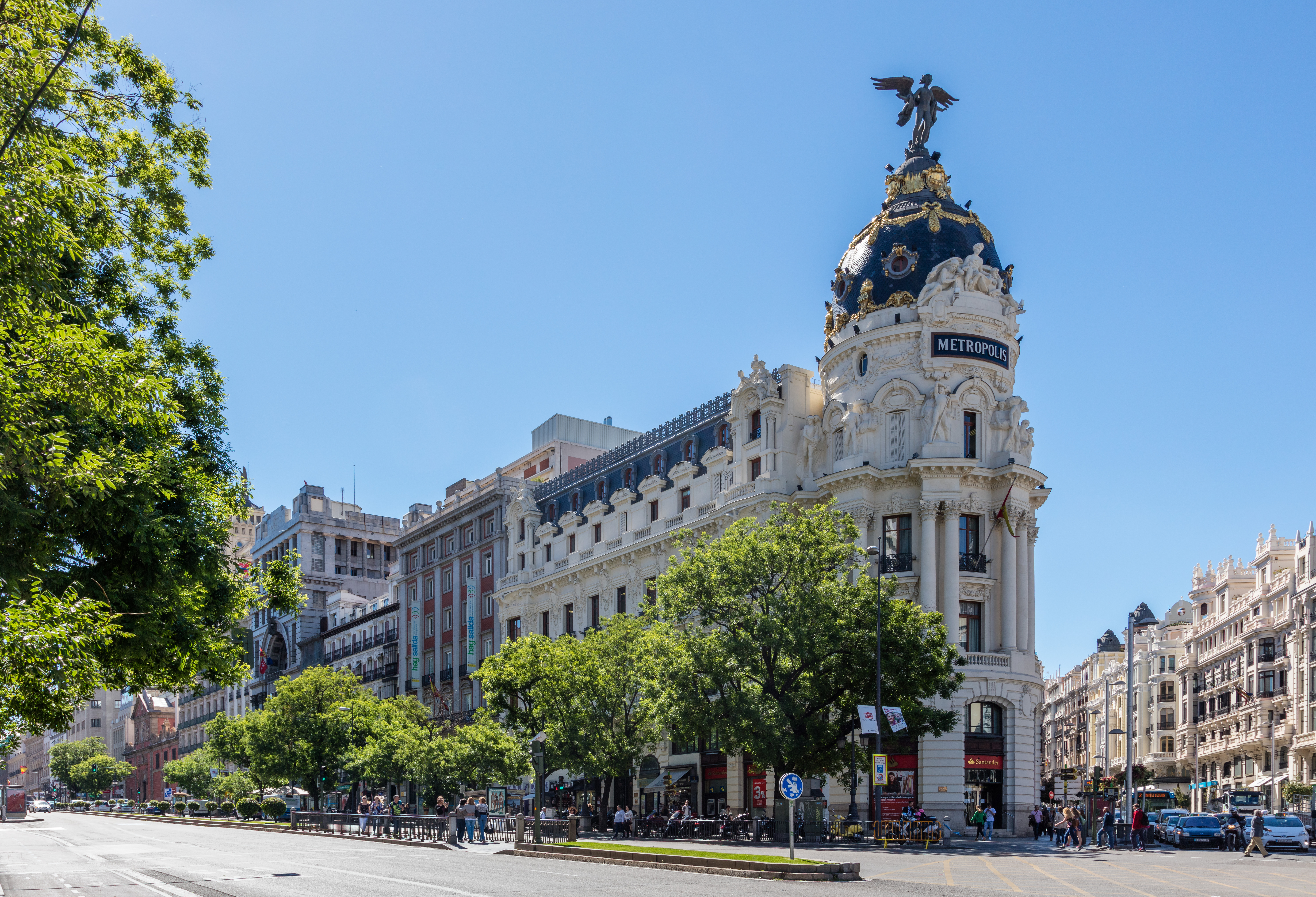 Edificio Metrópolis Madrid Wikipedia