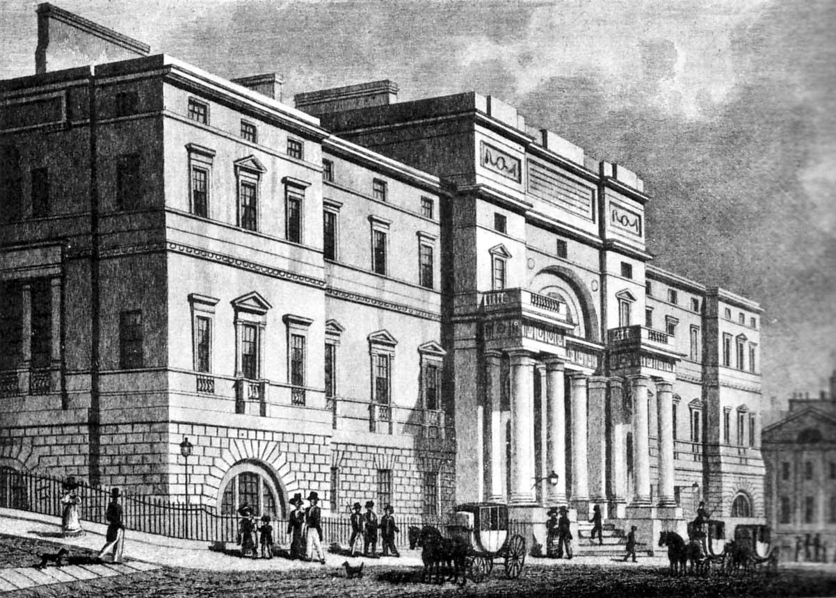Edimburgo (Escocia) Edinburgh_University_1827