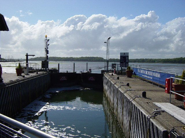 Entrance to Chichester Marina - geograph.org.uk - 11596