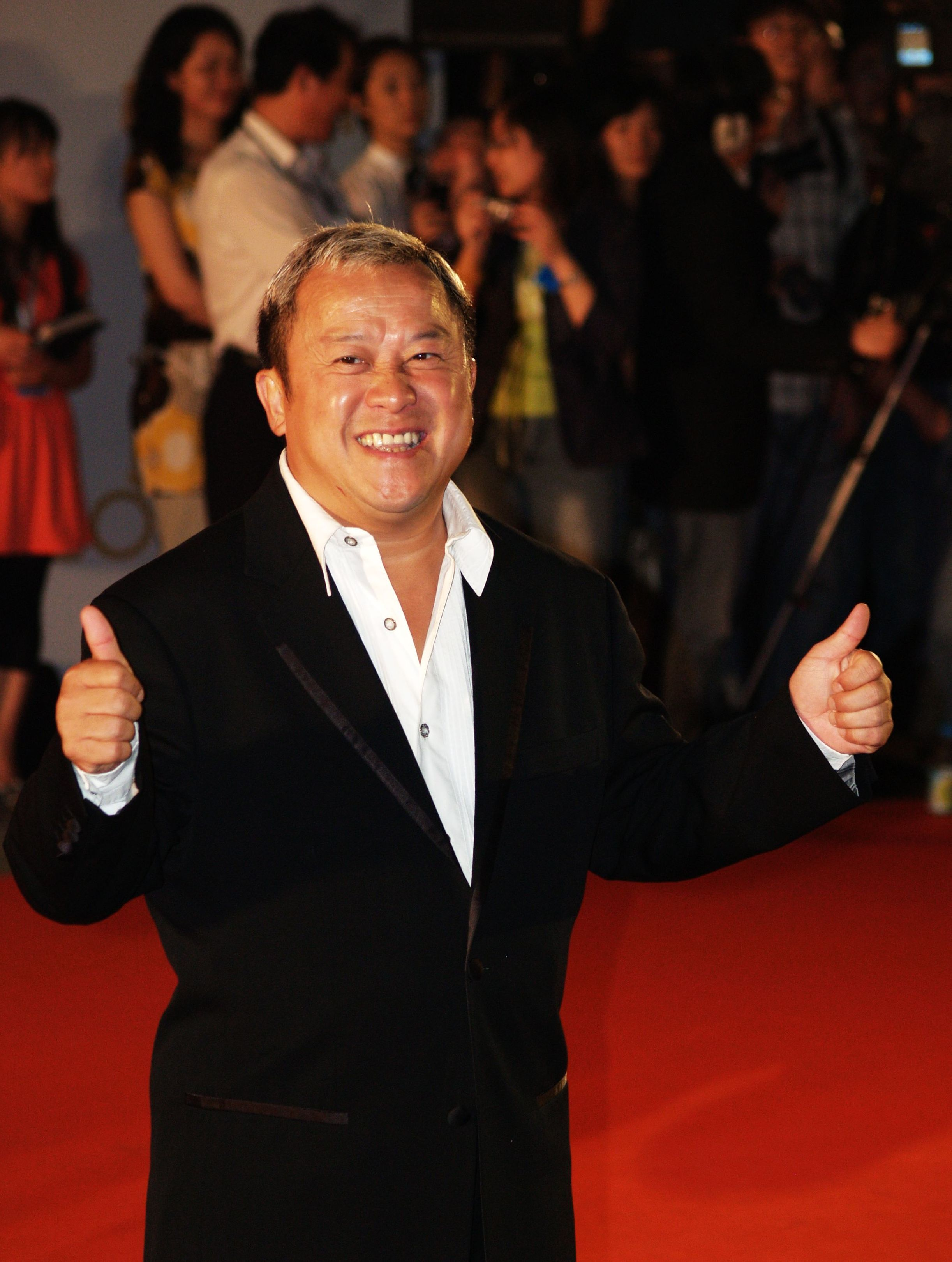 The 65-year old son of father (?) and mother(?) Eric Tsang in 2018 photo. Eric Tsang earned a  million dollar salary - leaving the net worth at 6 million in 2018