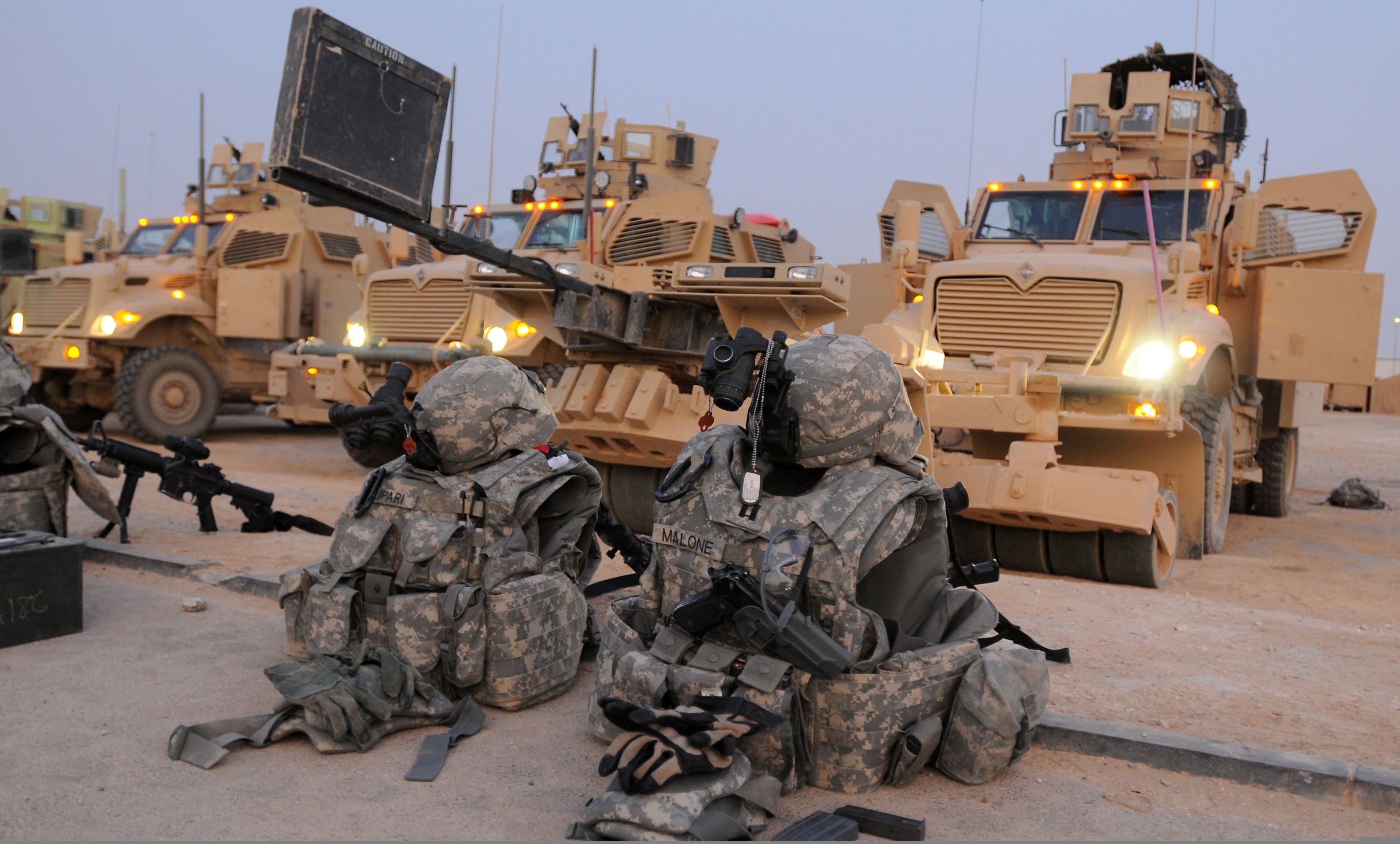 fileflickr the us army logistical convoyjpg