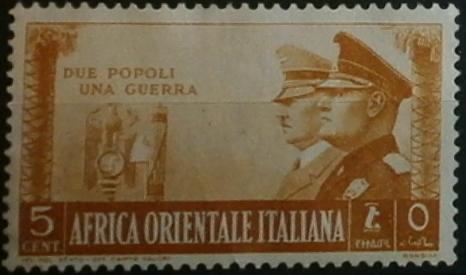 Postage Stamps And Postal History Of Italian East Africa Wikipedia