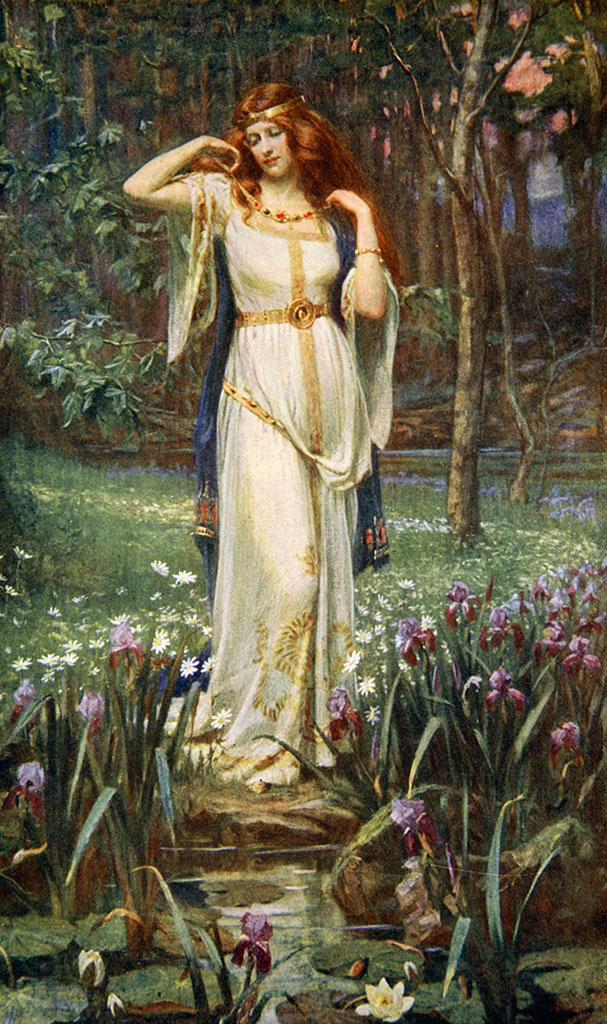 File:Freyja and the Necklace by James Doyle Penrose, 1890.jpg - Wikimedia  Commons