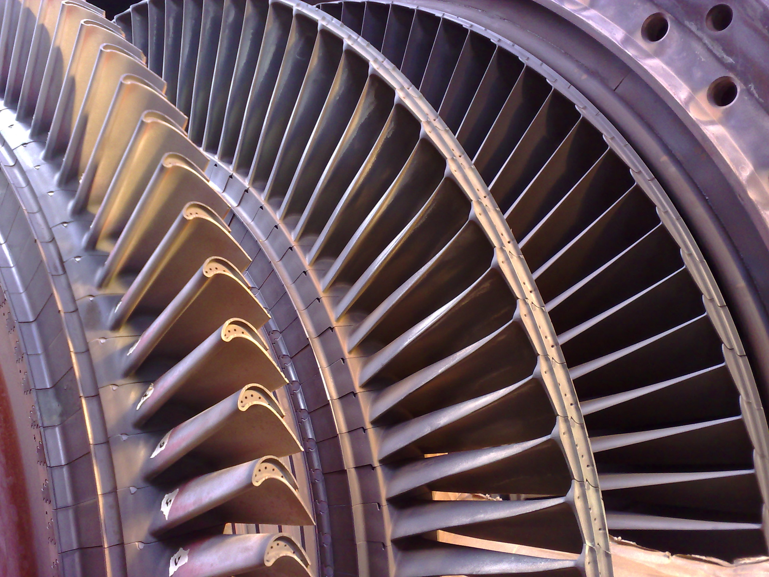 Blades of a Gas Turbine