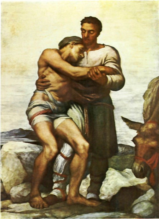 The Good Samaritan by George Frederic Watts [Public domain], via Wikimedia Commons