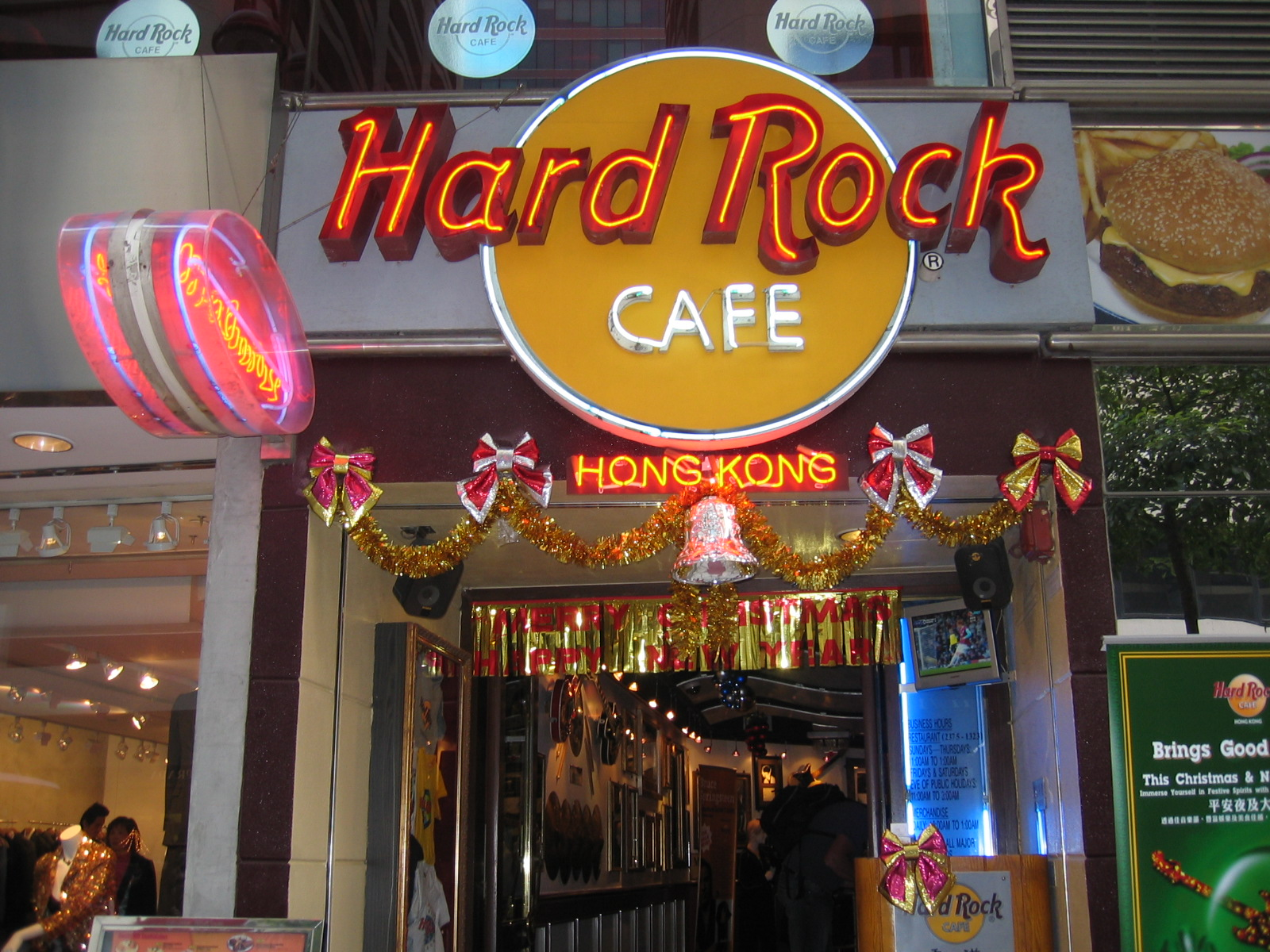 Hard Rock Cafe Song List