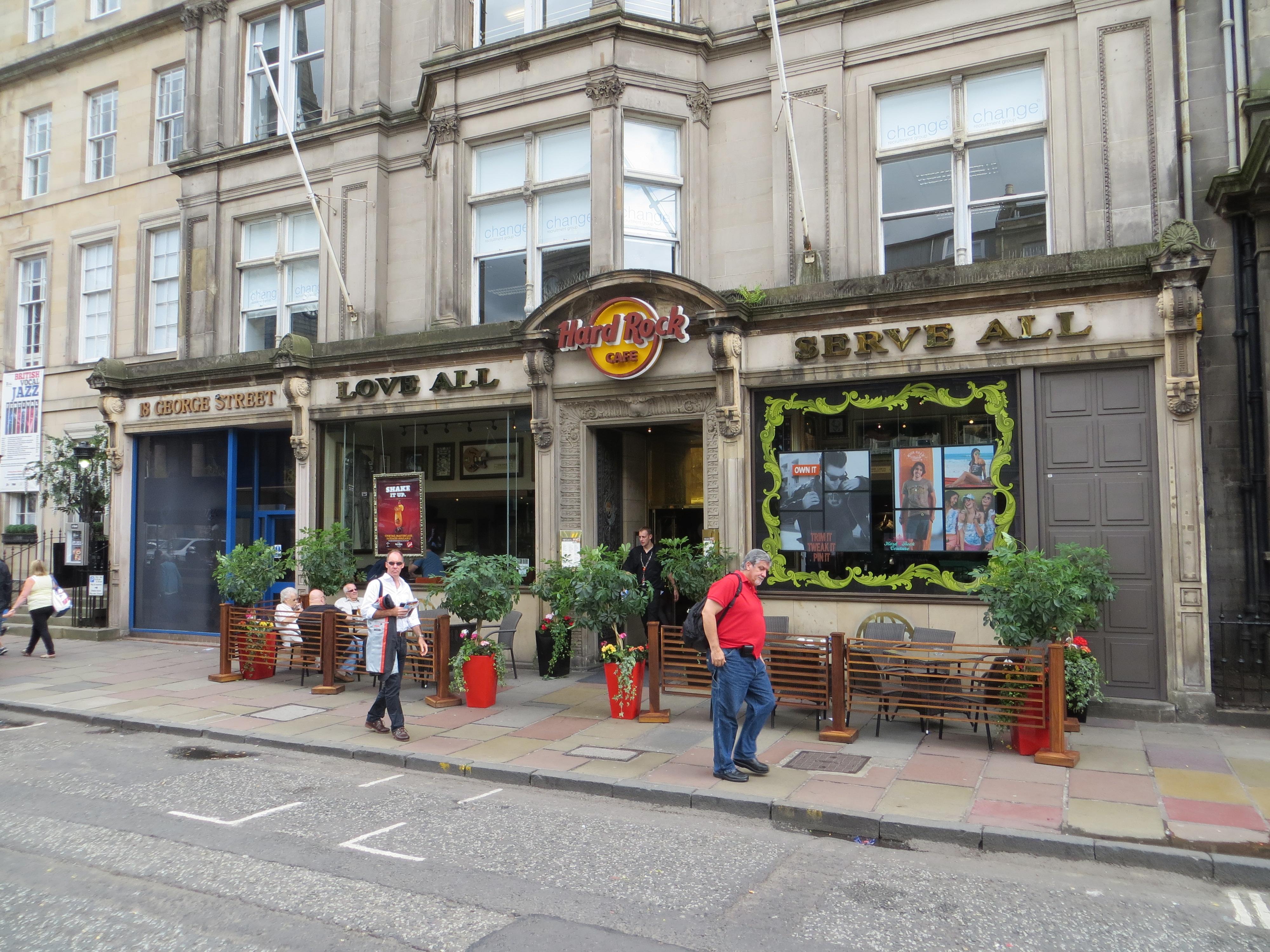 The Hard Rock Cafe Edinburgh