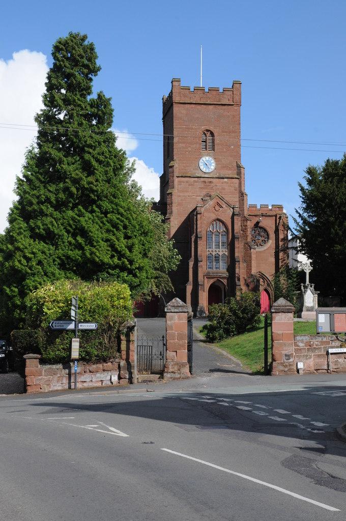 St James' parish church, Hartlebury, Worcestreshire