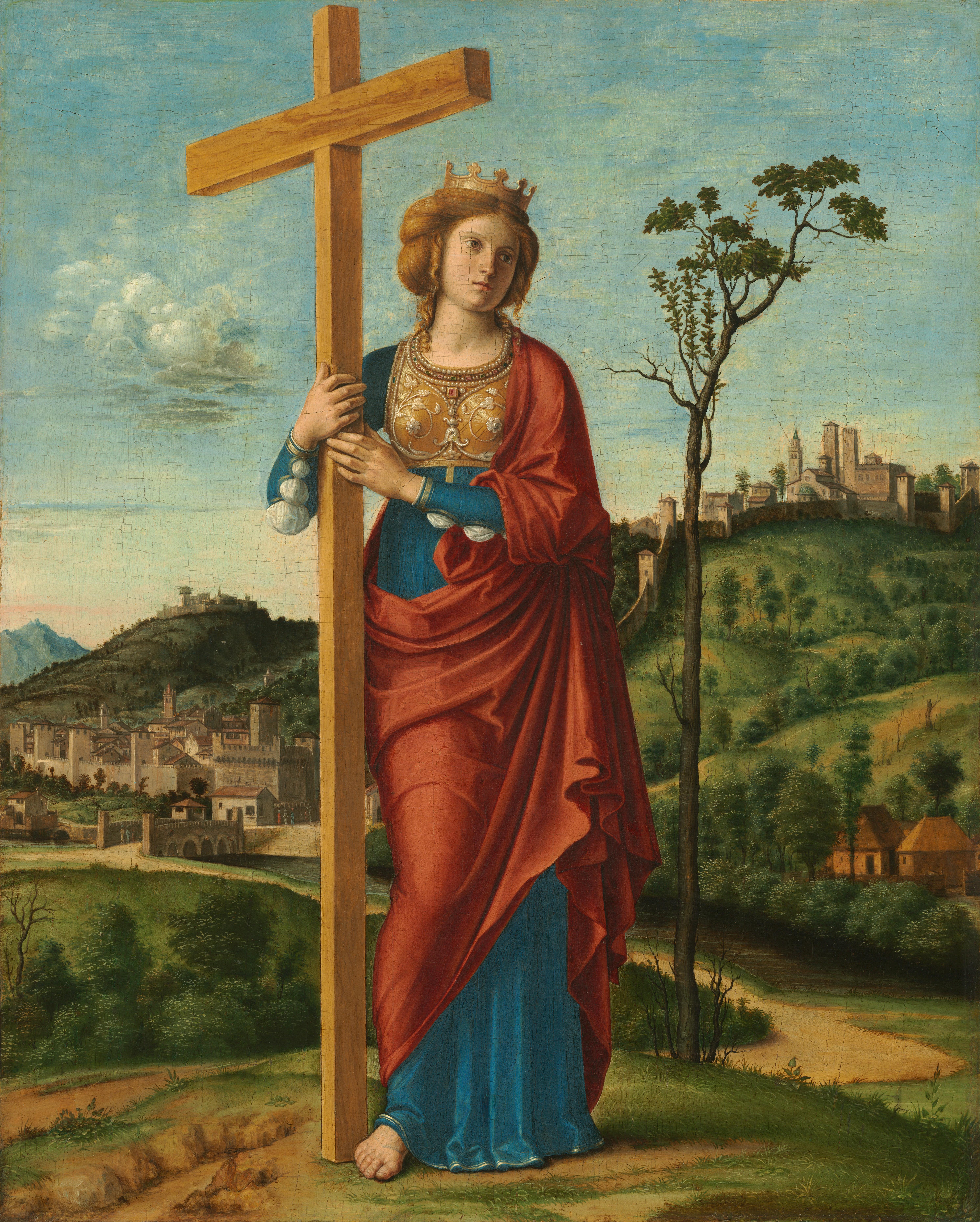 Anne Catherine Emmerich -  Helena_of_Constantinople_(Cima_da_Conegliano)