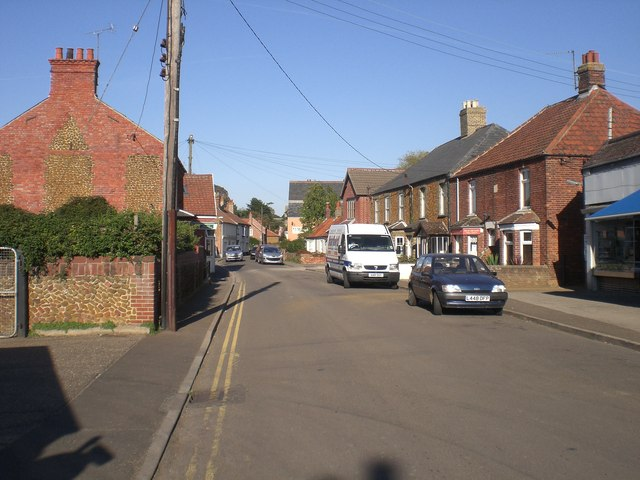 High Street, Heacham - geograph.org.uk - 574613