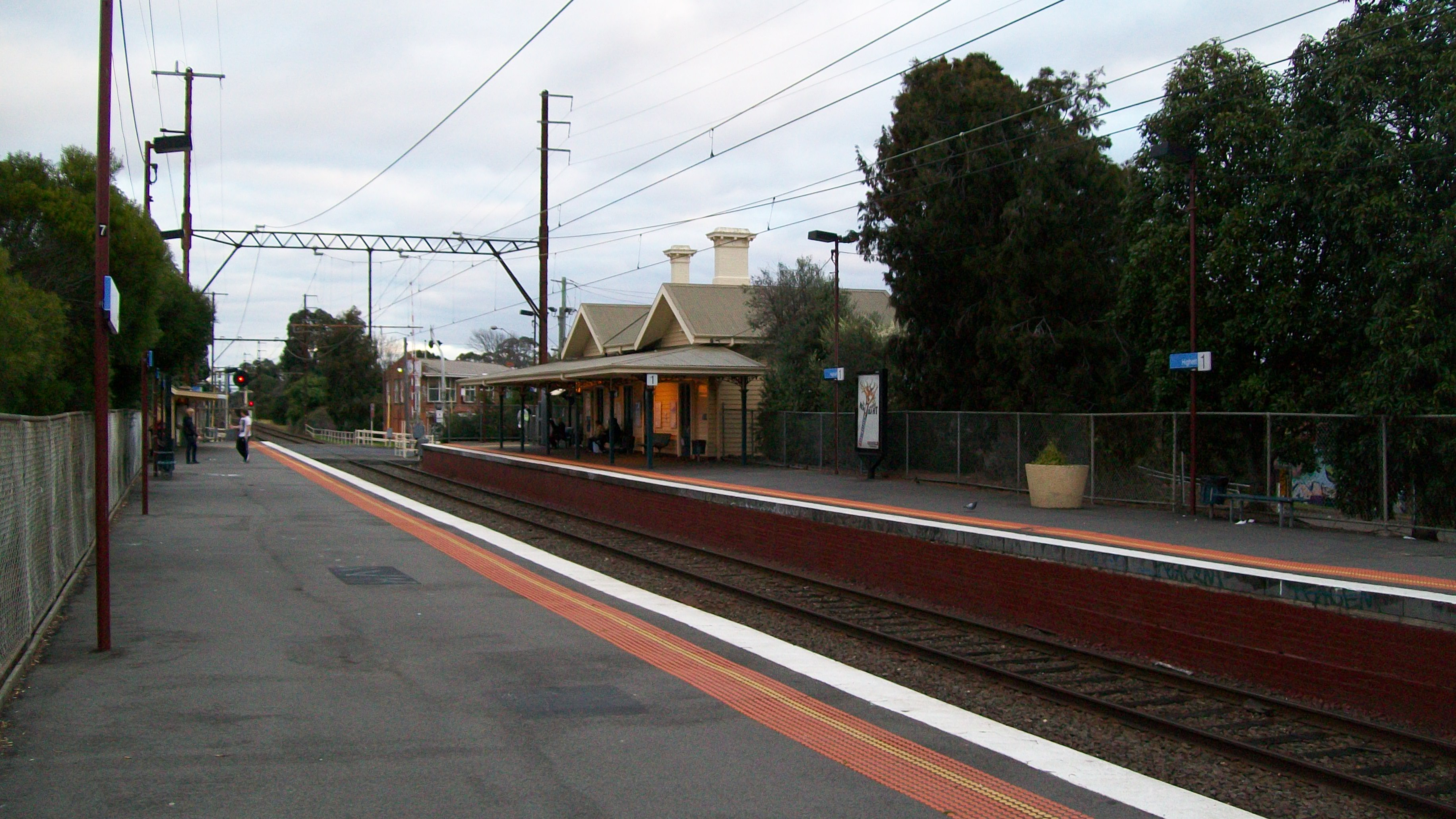 Highett Railway Station