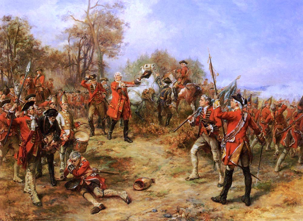 Хиллингфорд - Георг II в битве при Dettingen.jpg