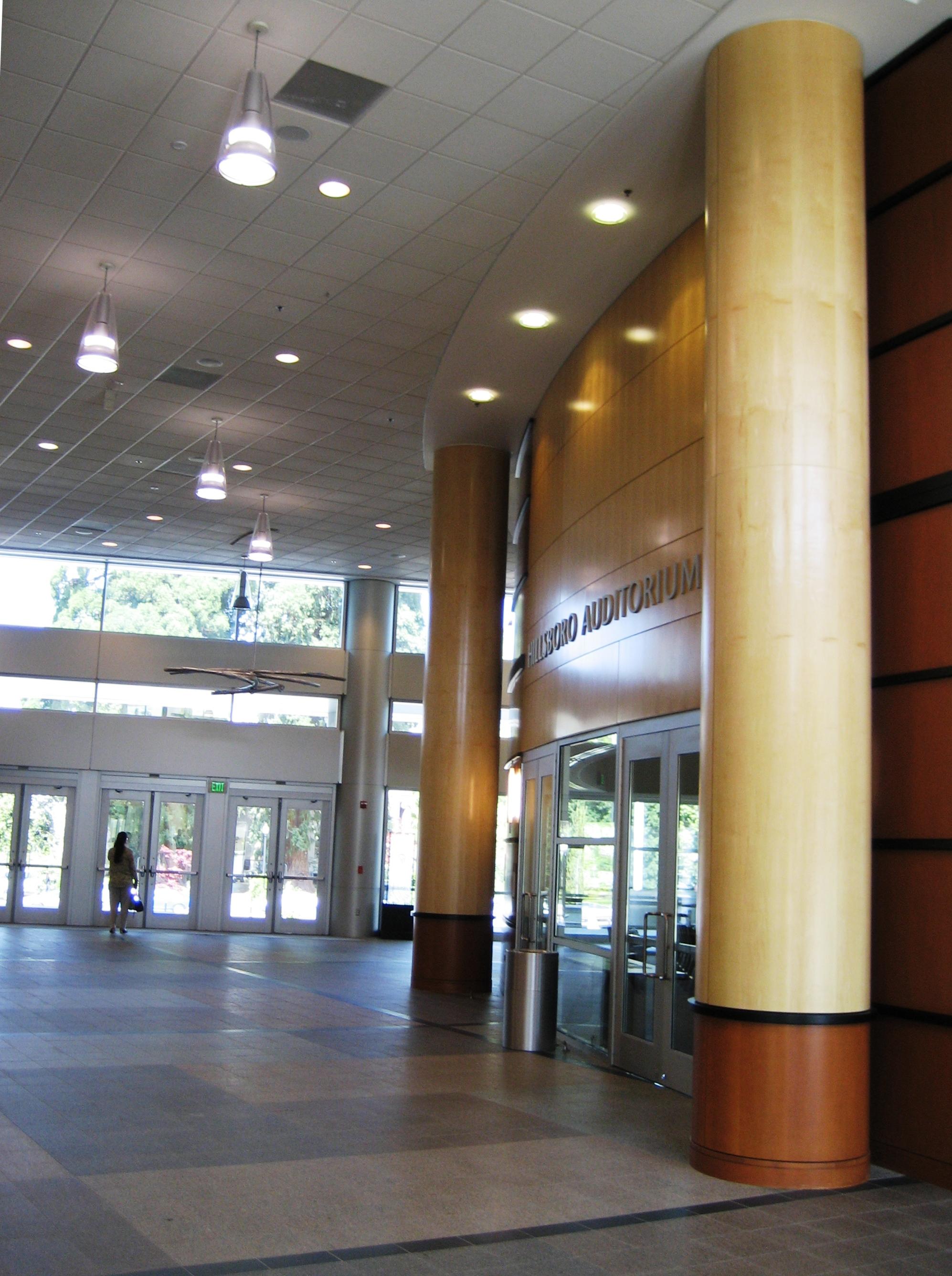 File Hillsboro Civic Center Interior Columns Jpg