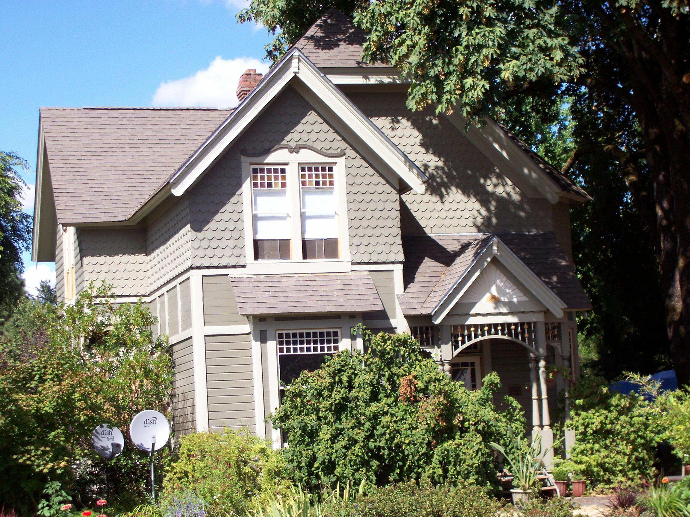Baker model house