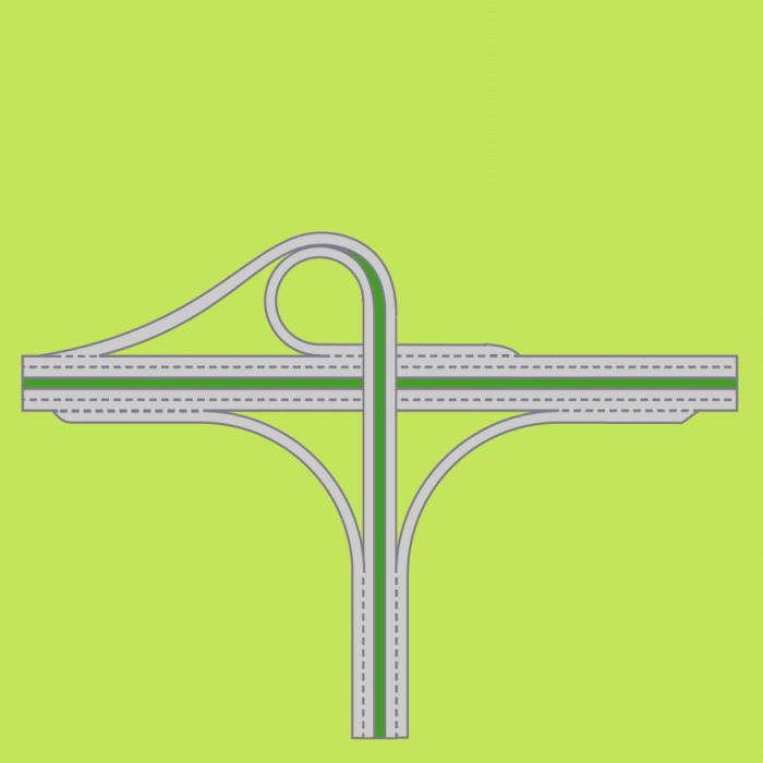 File:Interchange-Trumpet.png Y Intersection