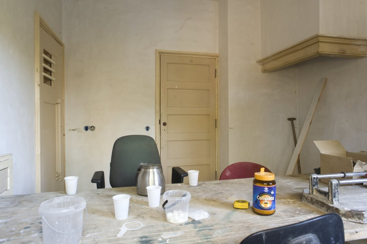 file:interieur, keuken, tijdens verbouwing - boxtel - 20415583, Deco ideeën