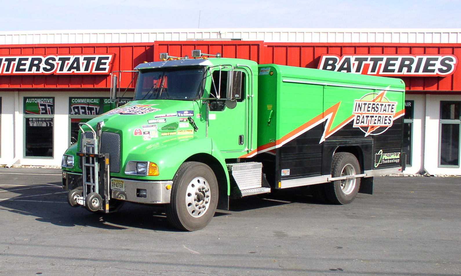 Who Makes Interstate Batteries >> File Interstate Batteries T300 Kenworth Jpg Wikimedia Commons