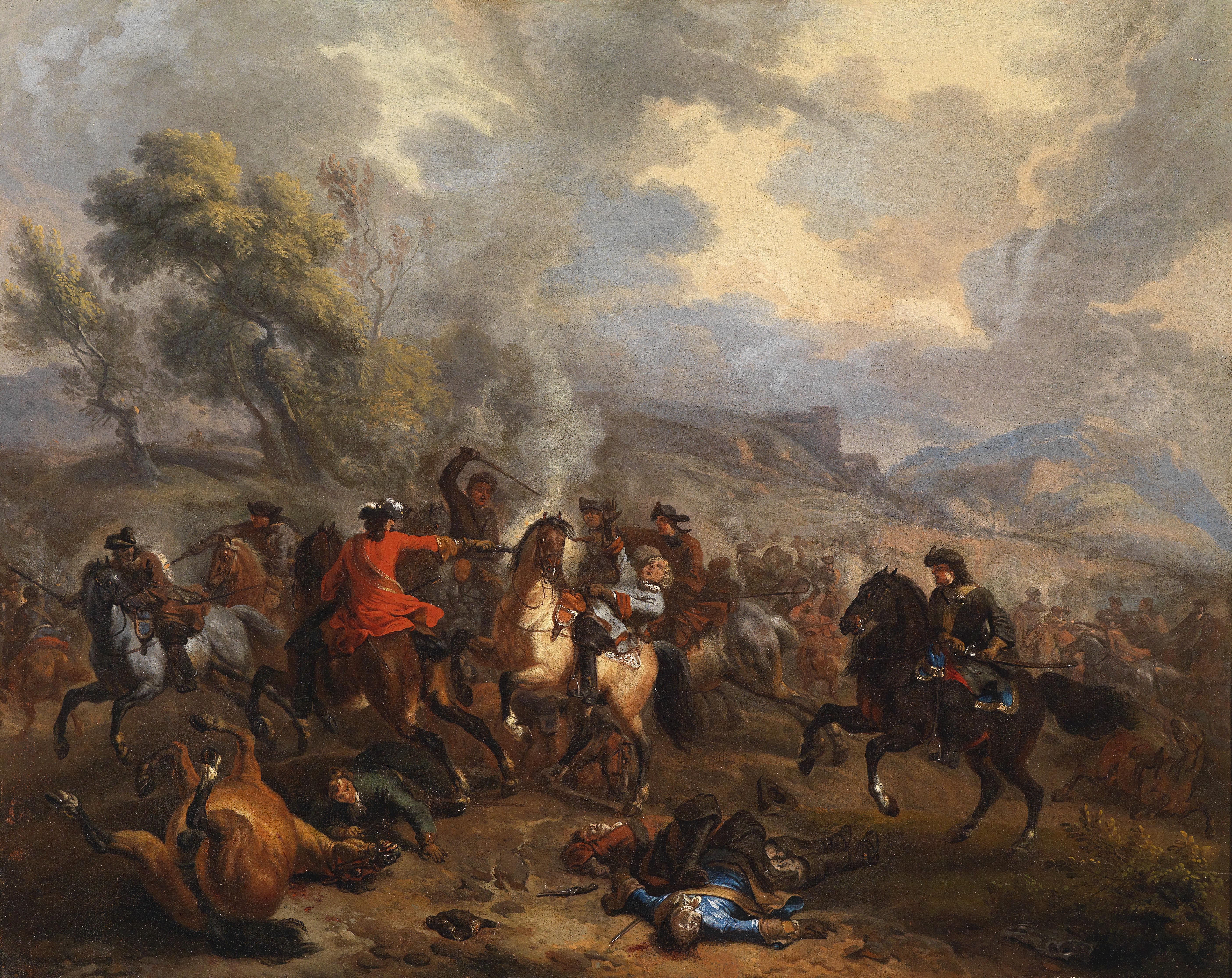 FileJan Van Huchtenburgh Reitergefecht