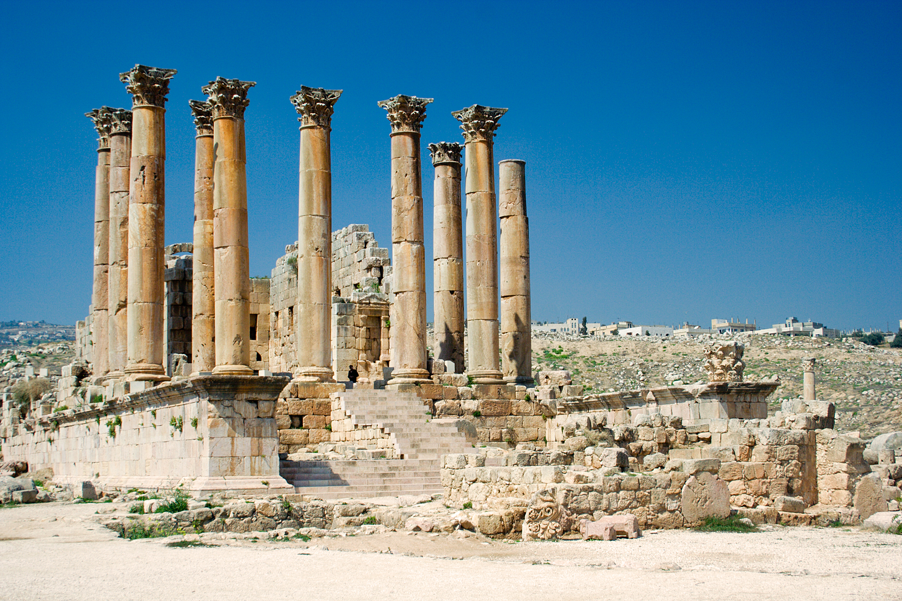 artemis temple Ephesus located within what  way through the ancient city including the library of celsus and terrace houses little remains of the famous temple of artemis,.
