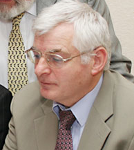 Joe Higgins Irish former Socialist Party politician