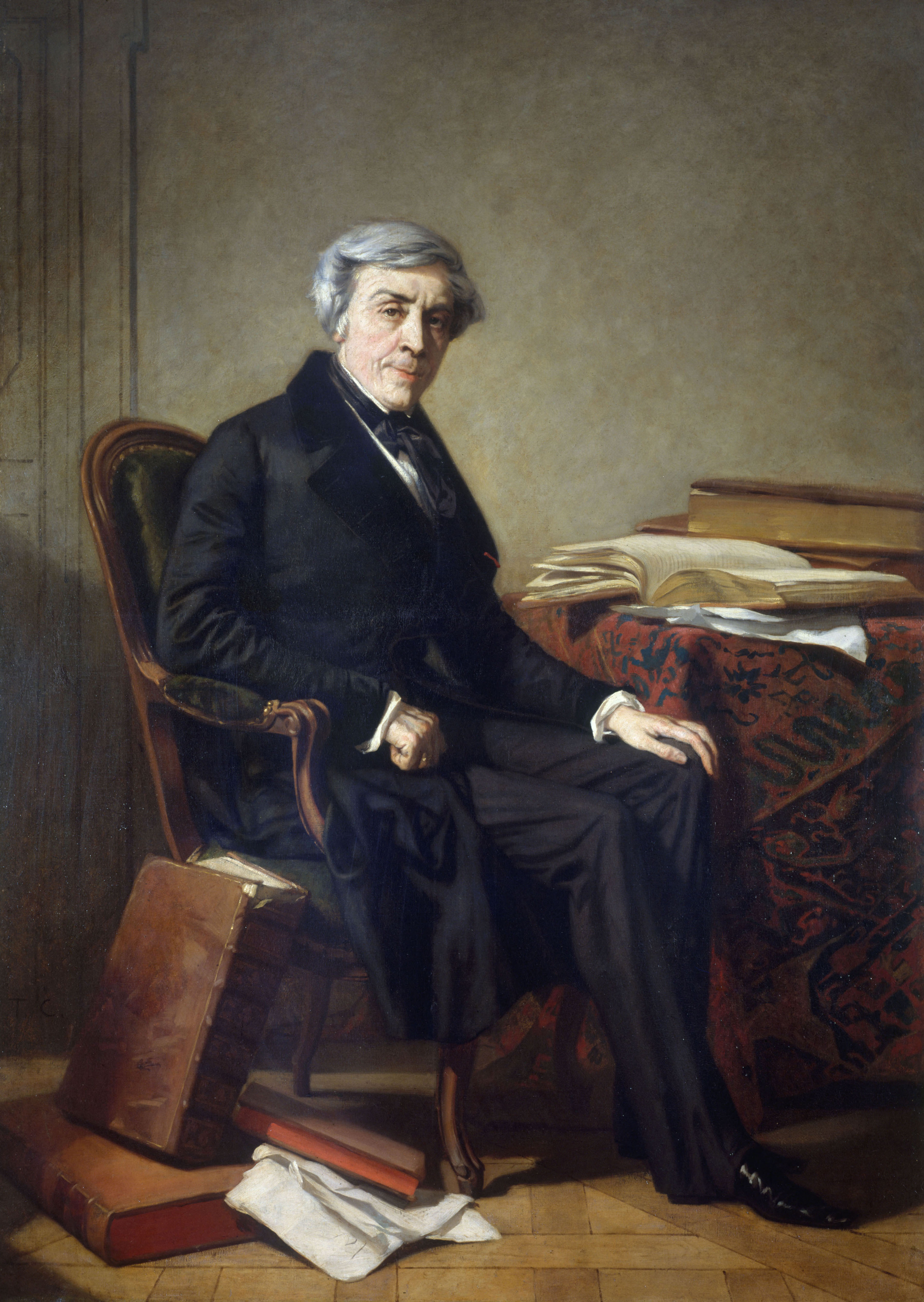 Portrait of Jules Michelet by [[Thomas Couture]]