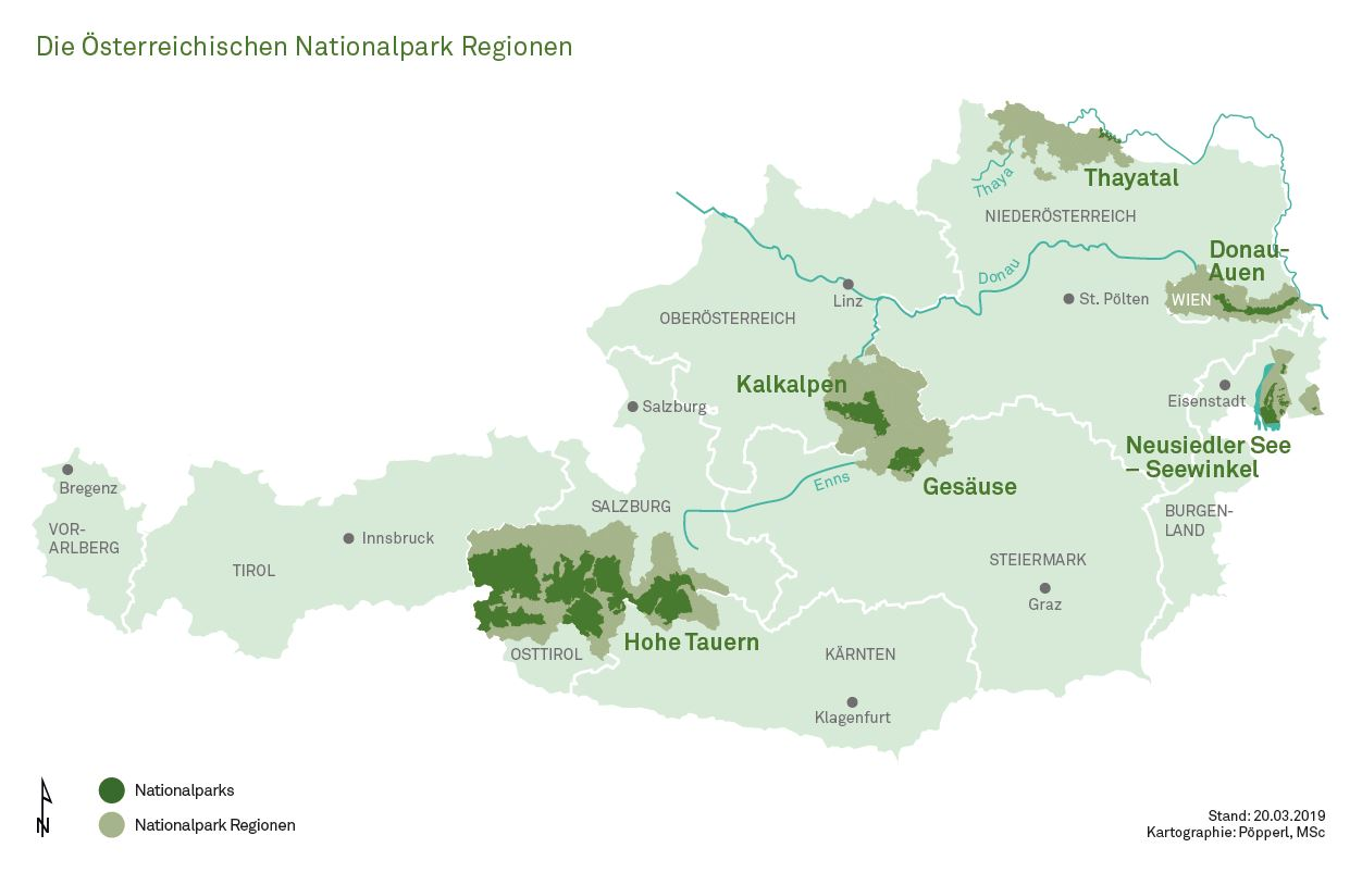 File Karte Nationalparks In Osterreich Und Nationalpark Regionen