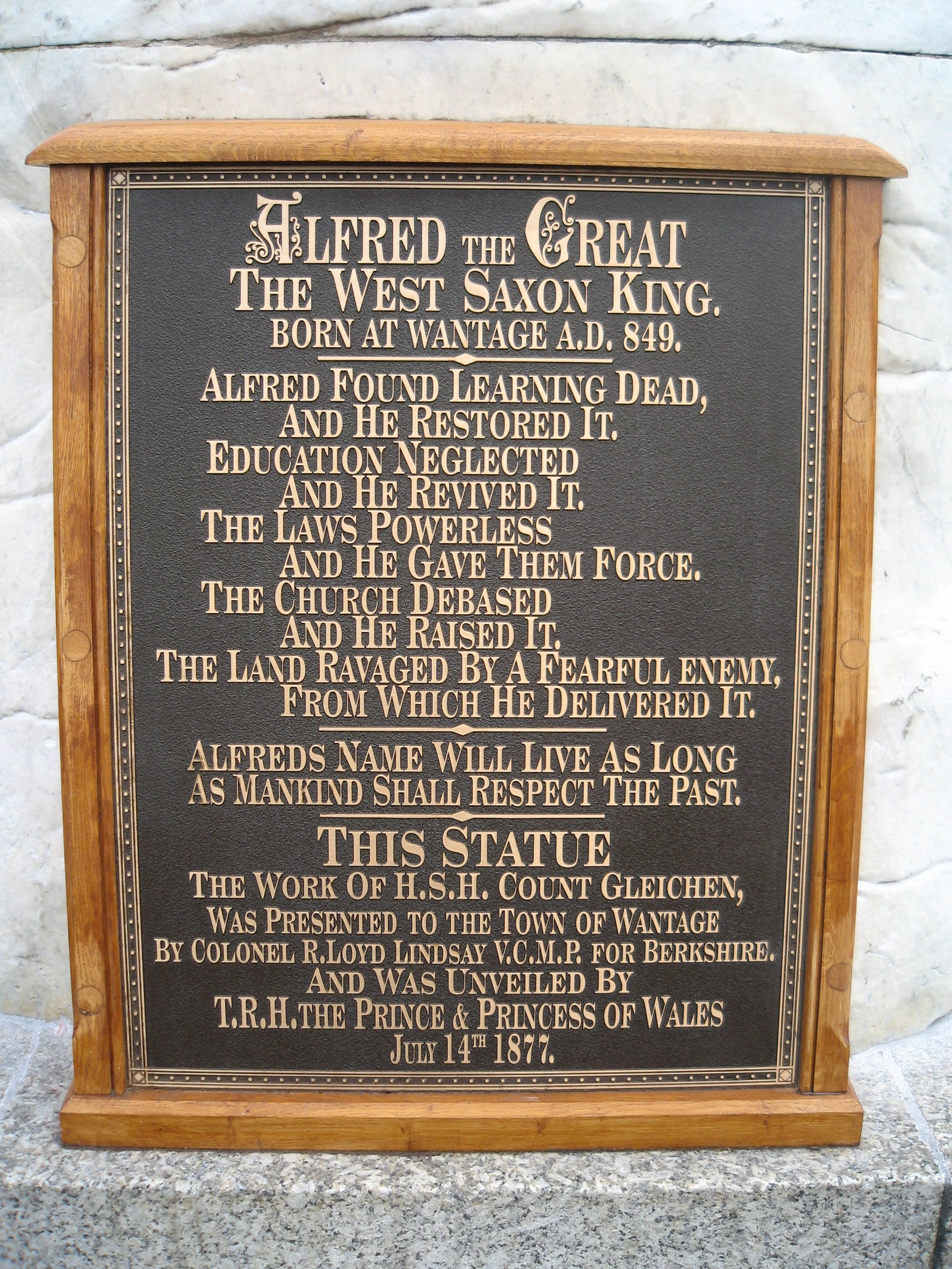 Alfred the great summary