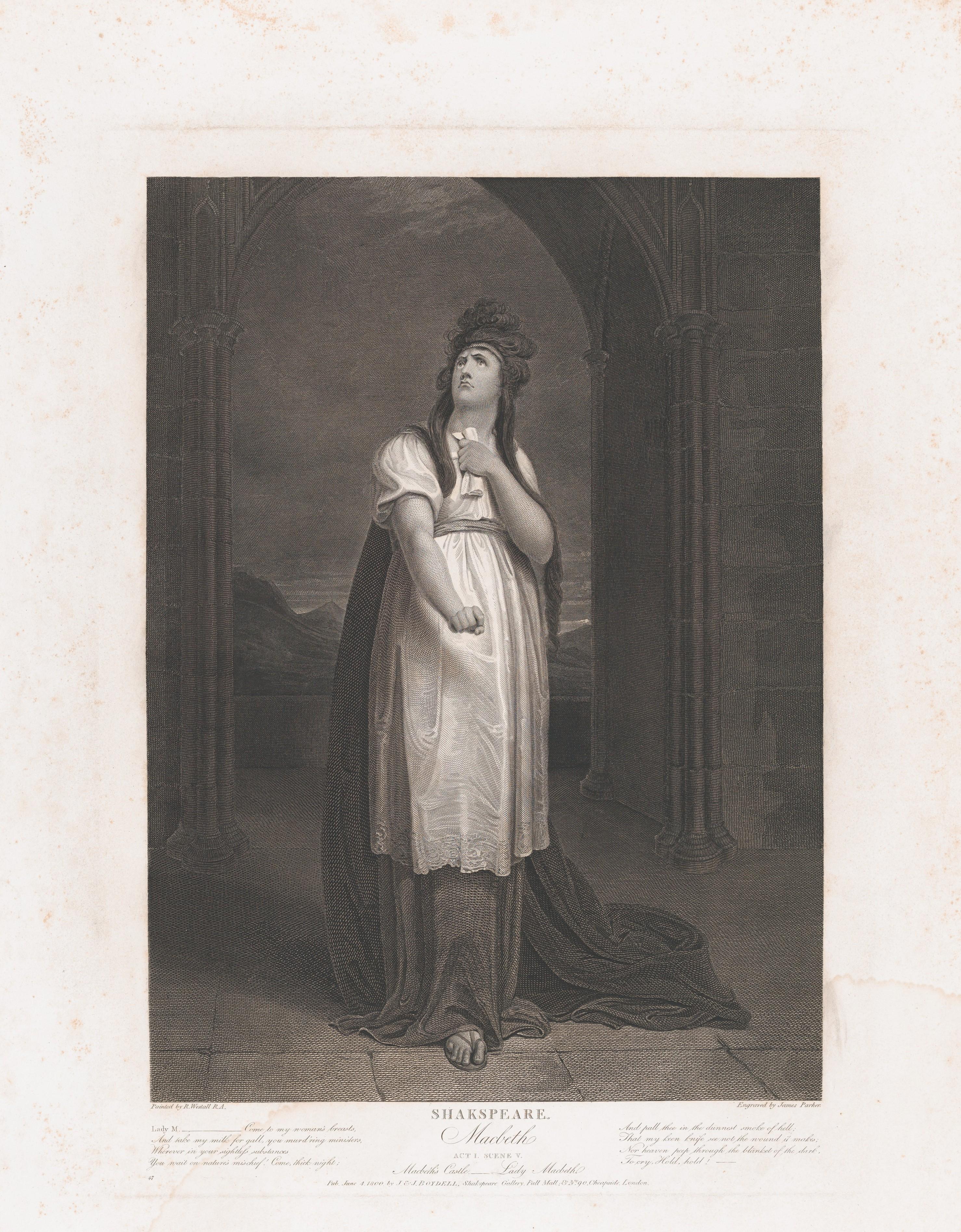a focus on lady macbeth in shakespeares macbeth