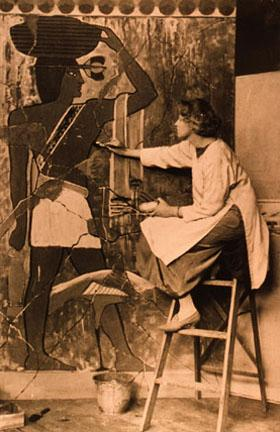 Armer at the California School of Design<br> c. 1895