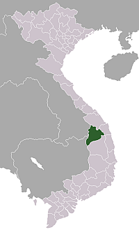 Location of Kon Tum Province