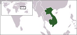 Location of Indo-Tsinang Pranses