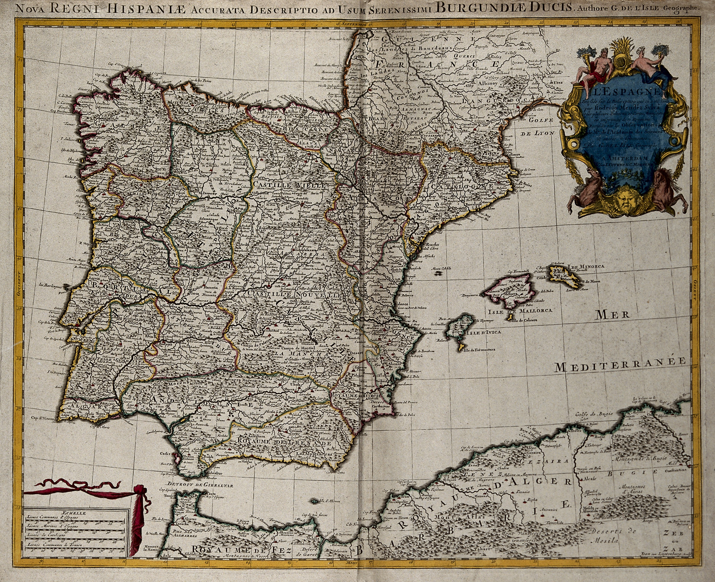 Alcanar Spain Map.File Map Of Spain And Portugal Wellcome V0049916 Jpg Wikimedia Commons
