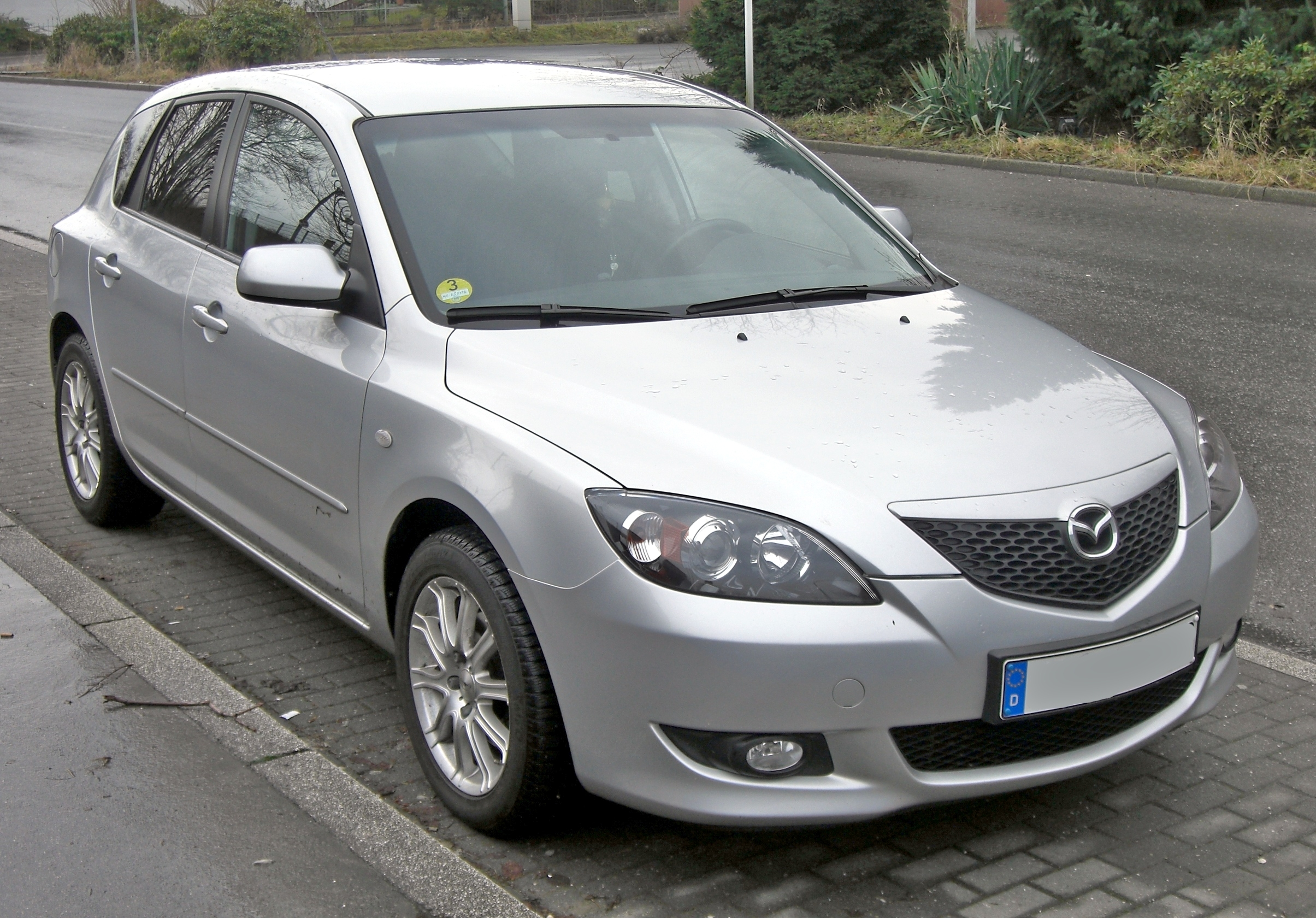file mazda3 sport front jpg wikimedia commons. Black Bedroom Furniture Sets. Home Design Ideas