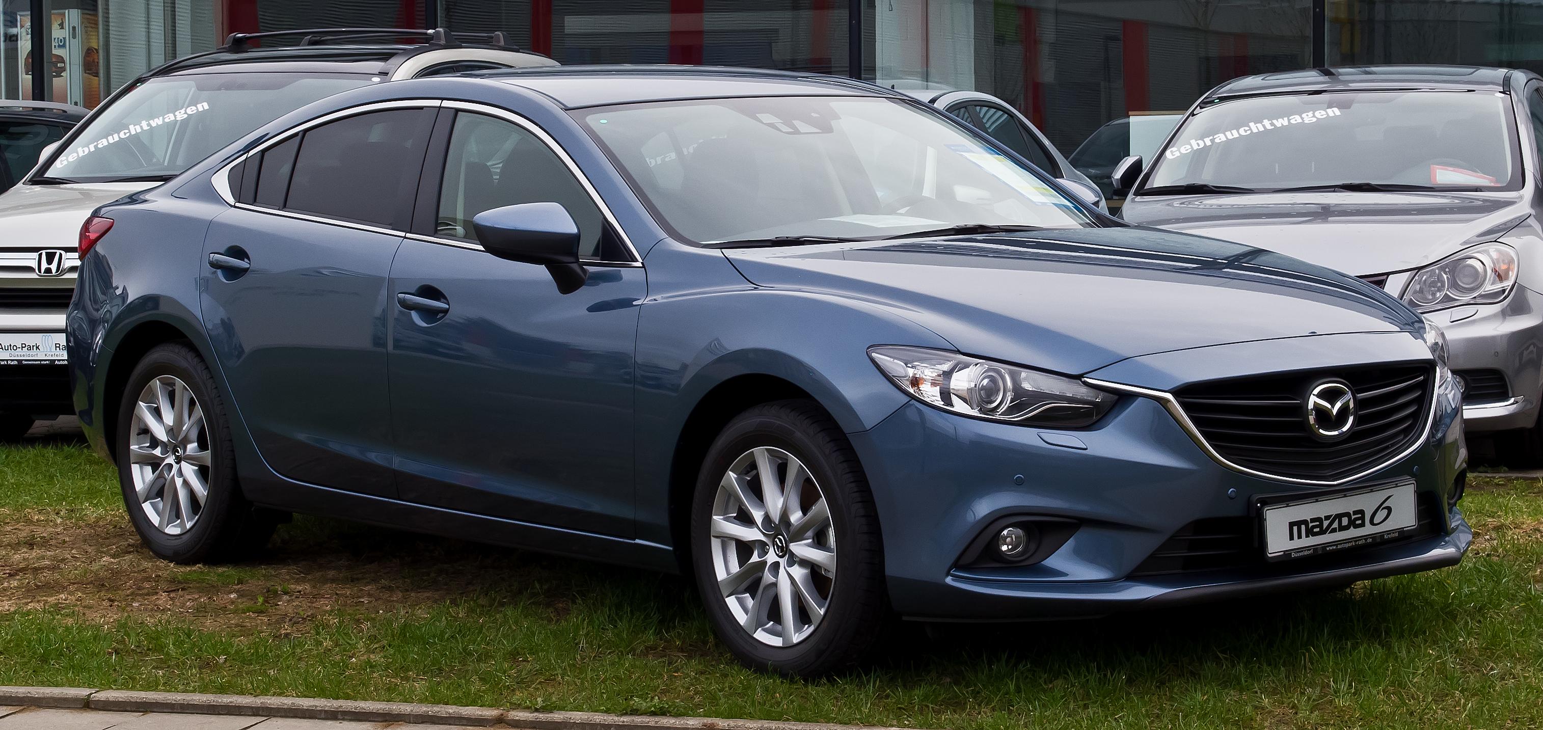 File:Mazda6 2.0 SKYACTIV-G Center-Line (GJ) – Frontansicht, 14 ...