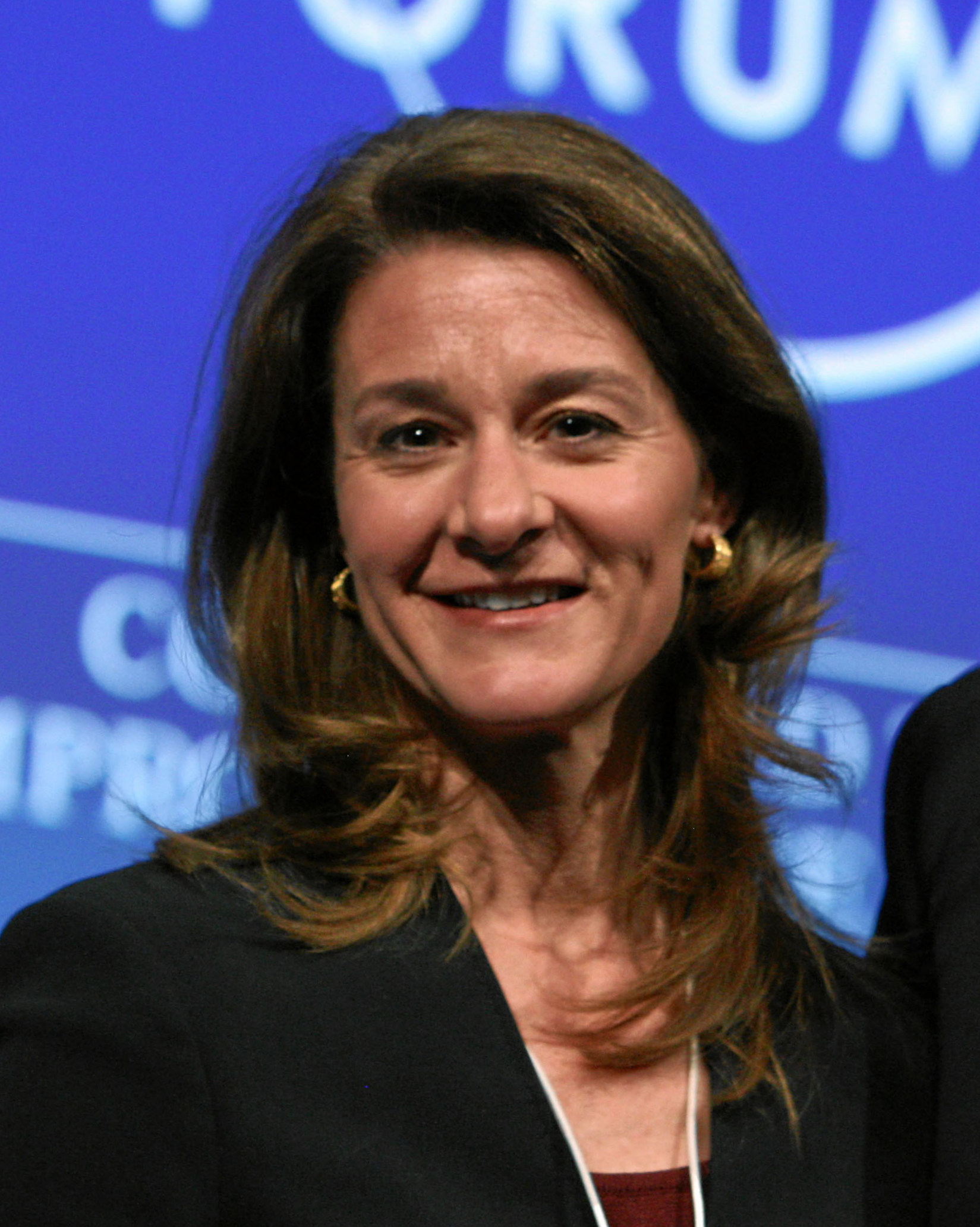 The 52-year old daughter of father Raymond Joseph French Jr. and mother Elaine Agnes Amerland, 175 cm tall Melinda Gates in 2017 photo
