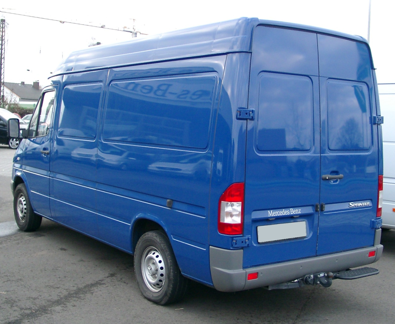 Mercedes Sprinter Wiki >> File Mercedes Sprinter Rear 20080102 Jpg Wikimedia Commons