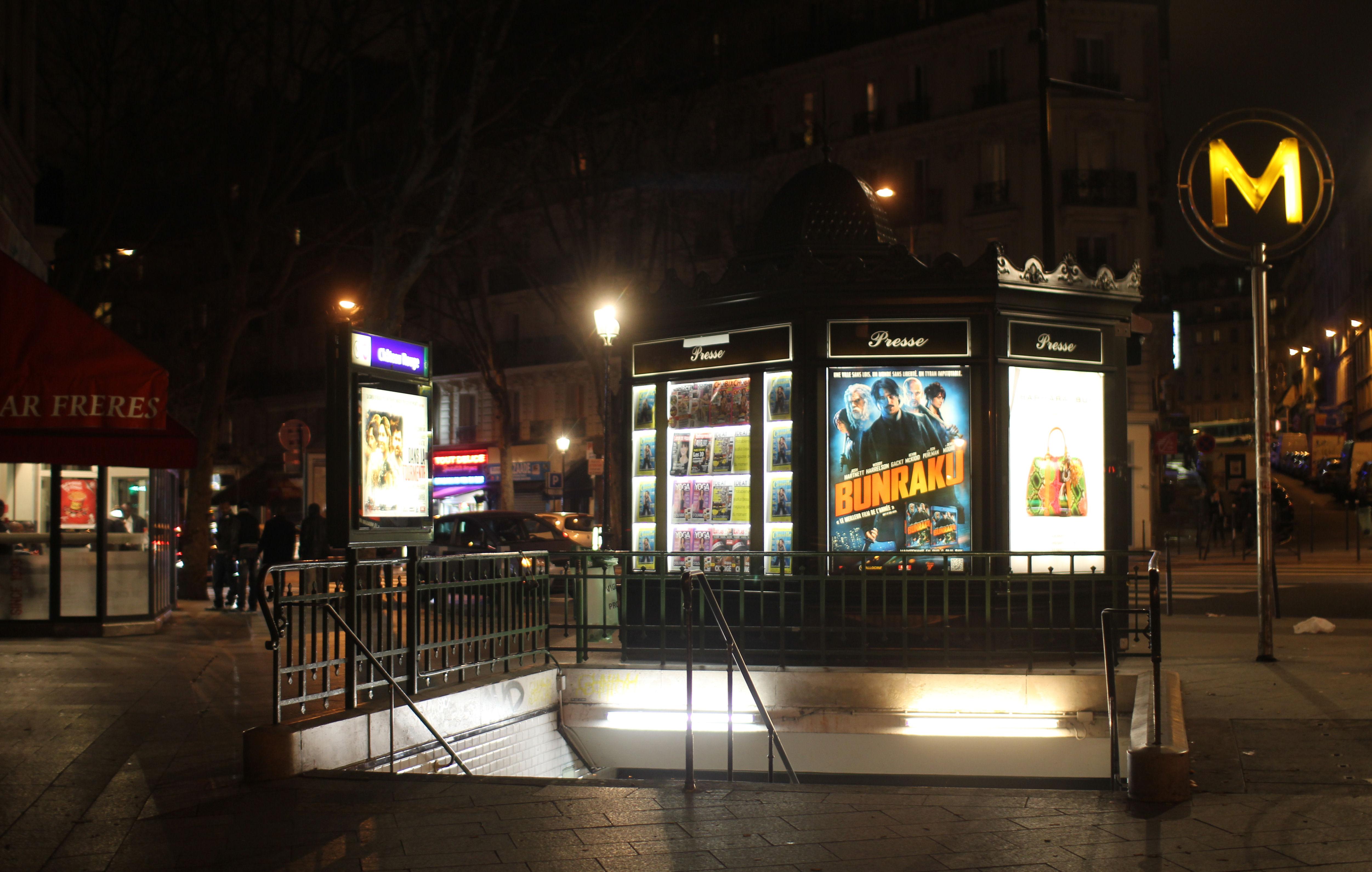 Château Rouge (stanice metra v Paříži)