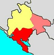 Shtokavian subdialects in Montenegro.