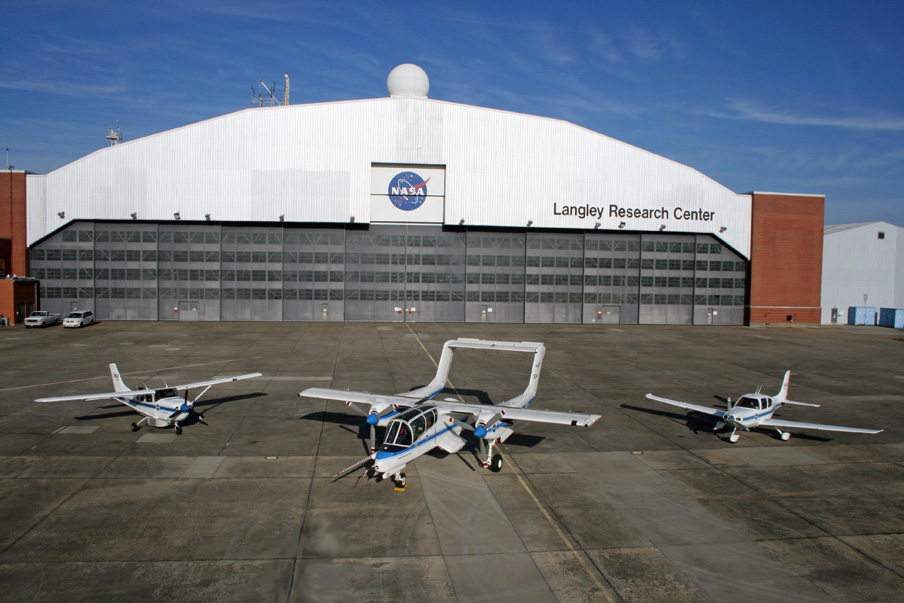 File Nasa Langley S Cessna 206 The Ov 10 Bronco And The