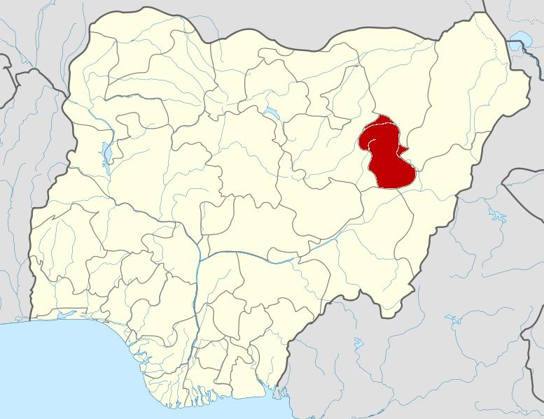 Gombe State Wikipedia - Niger map hd pdf