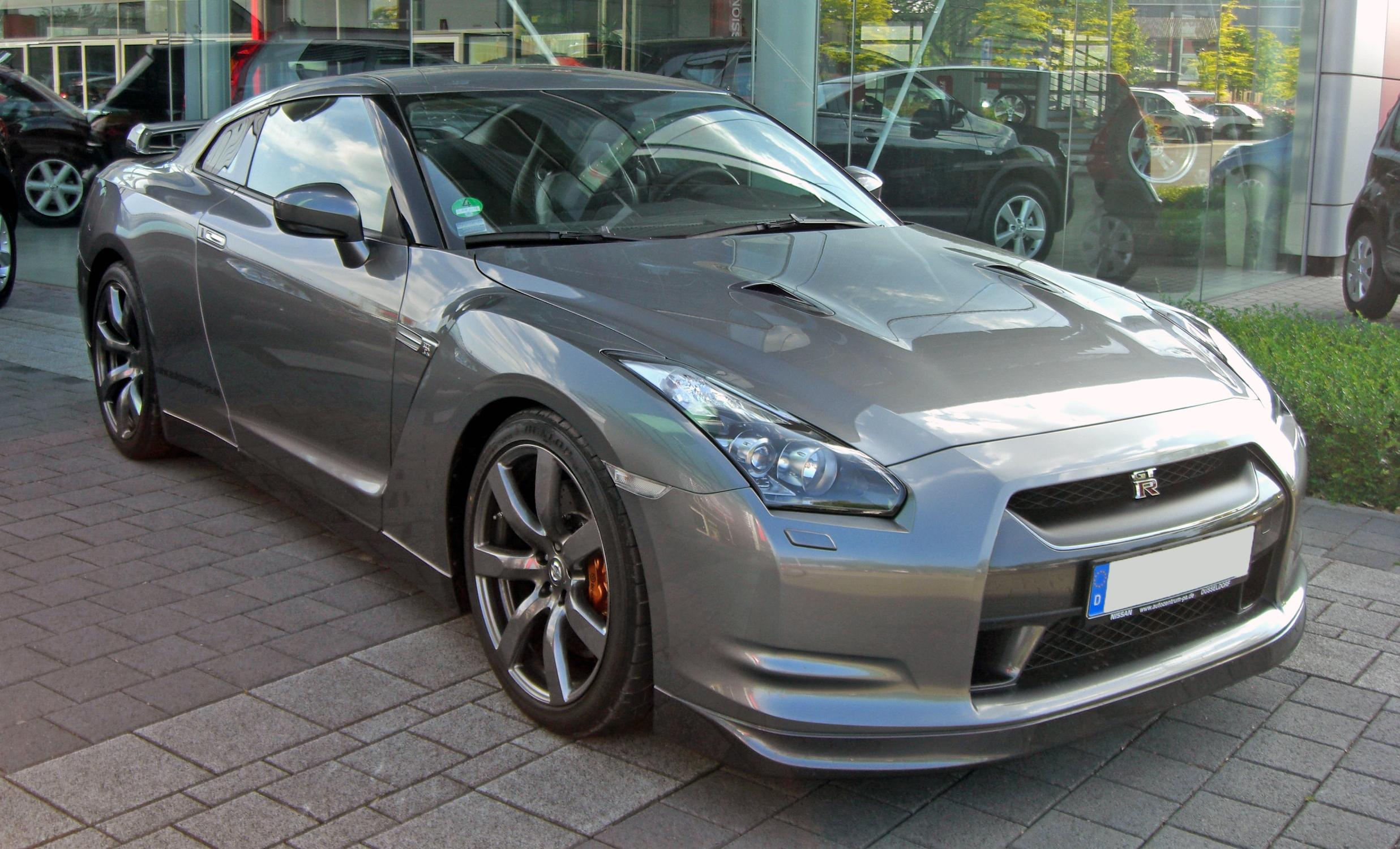 File Nissan Gt R 20090531 Front Jpg Wikimedia Commons