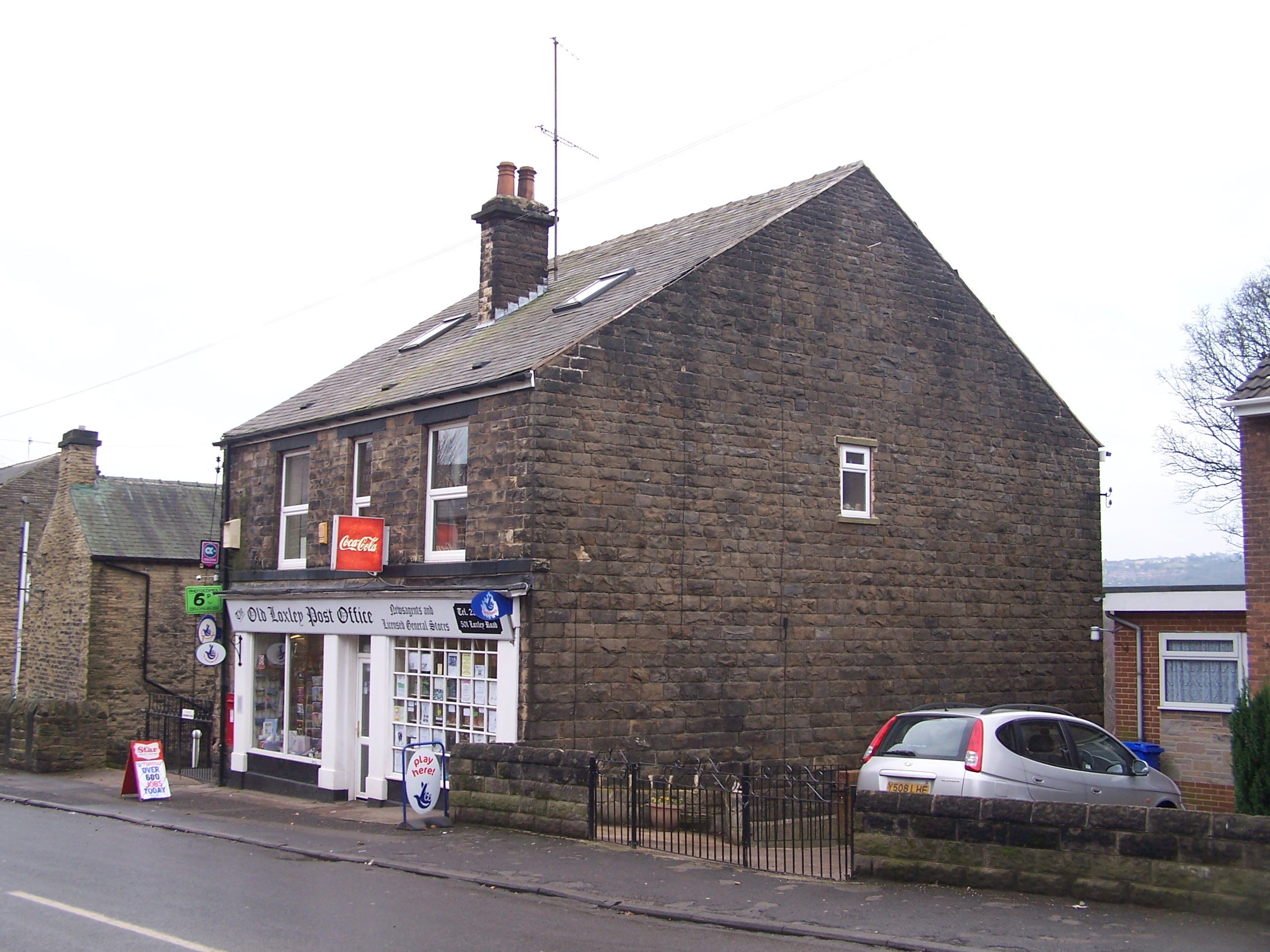 Home office sheffield address - File Old Loxley Post Office Loxley Road Loxley Sheffield Geograph