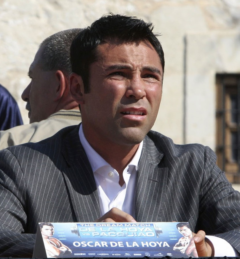 79027380 additionally May 2010 further U S Olympic Standouts Look Back In Photos further 8 Latino Athletes Who Made Olympic History as well Pacquiao Vs Mayweather 2015 Fight Timeline. on oscar de la hoya 1992 olympic barcelona