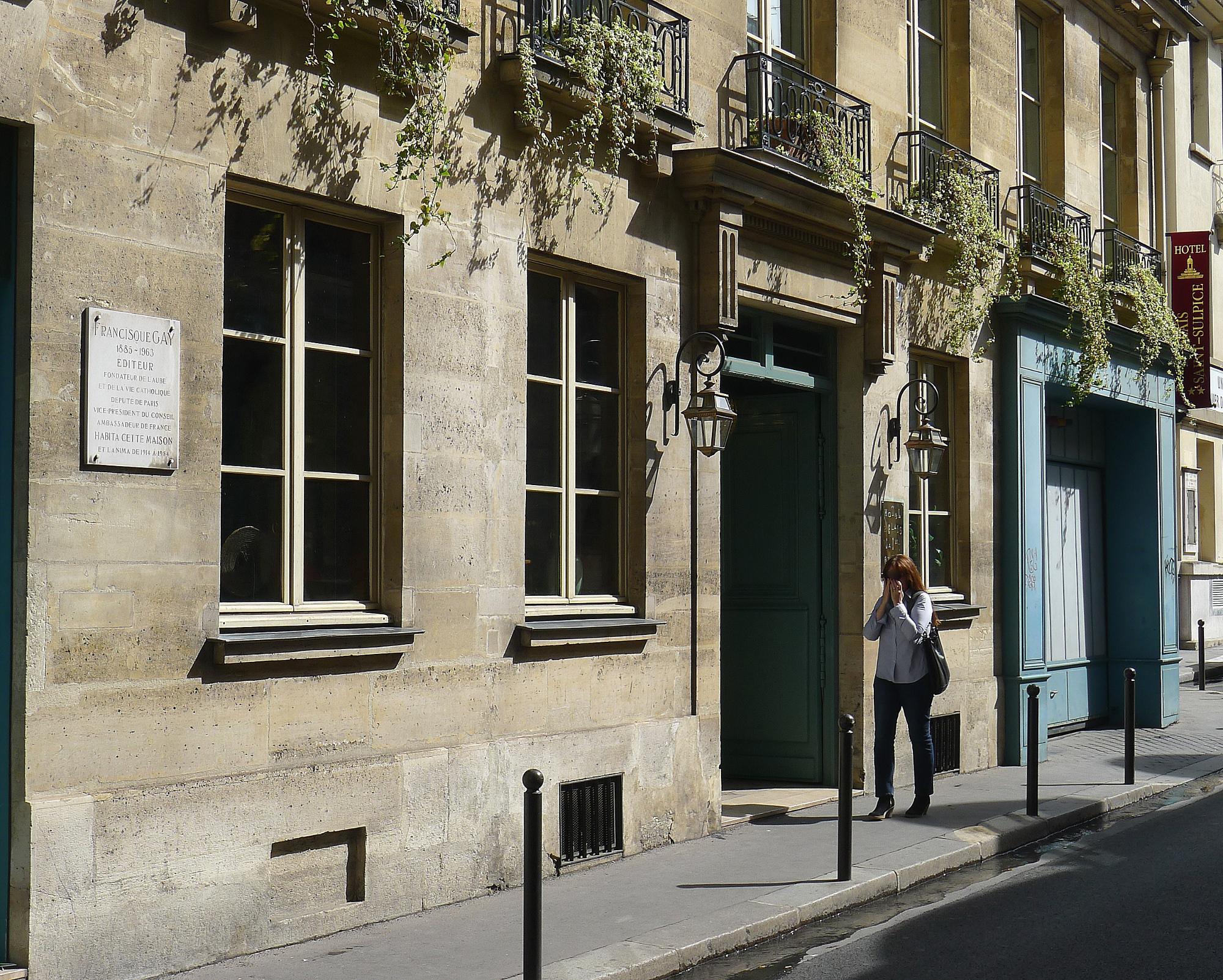 Fichier:P1130360 Paris VI rue Garancière n°3 rwk.JPG
