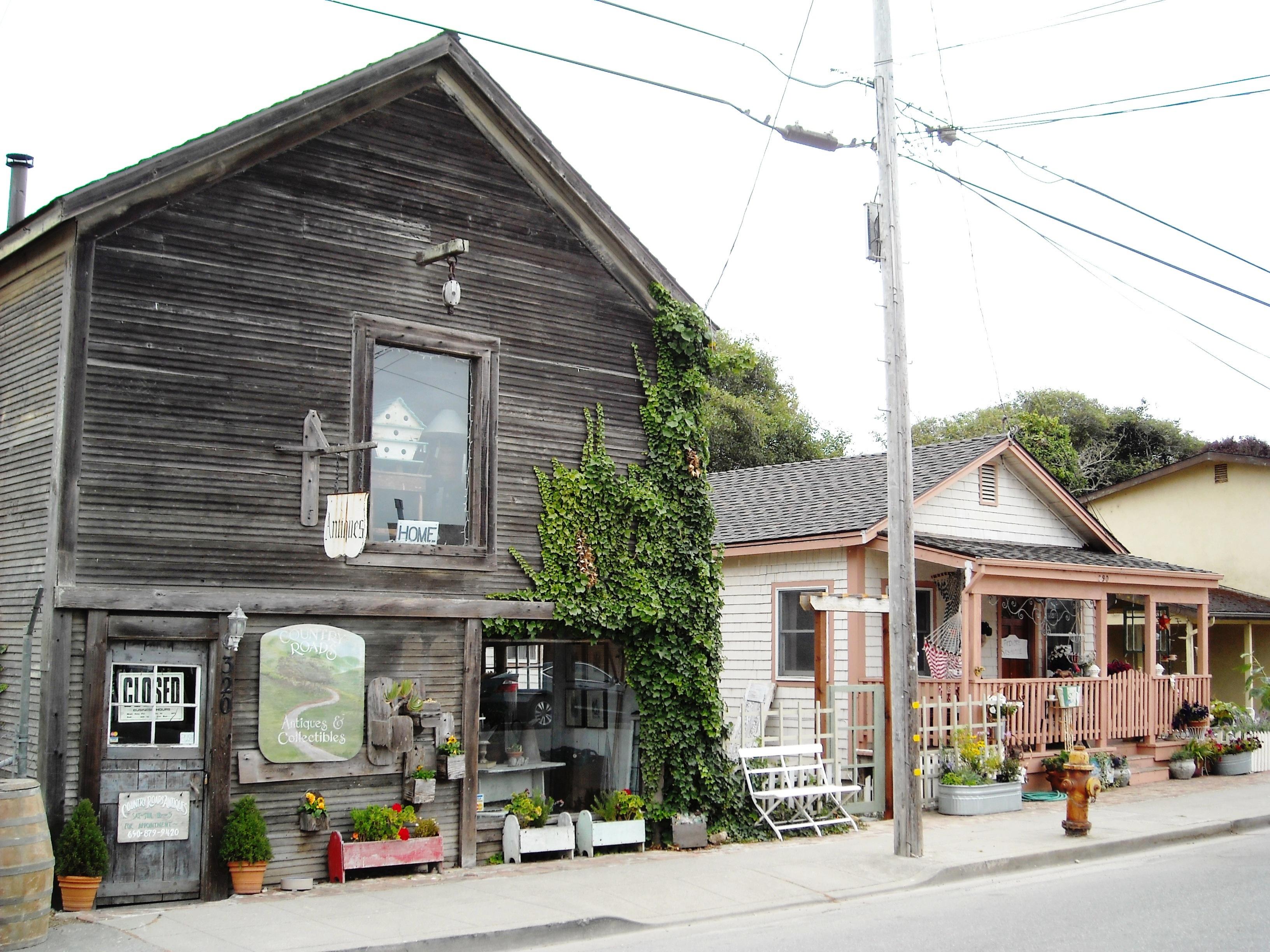 California san mateo county pescadero - Old Town Pescadero California