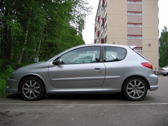 file peugeot 206 gt 2 wikimedia commons. Black Bedroom Furniture Sets. Home Design Ideas
