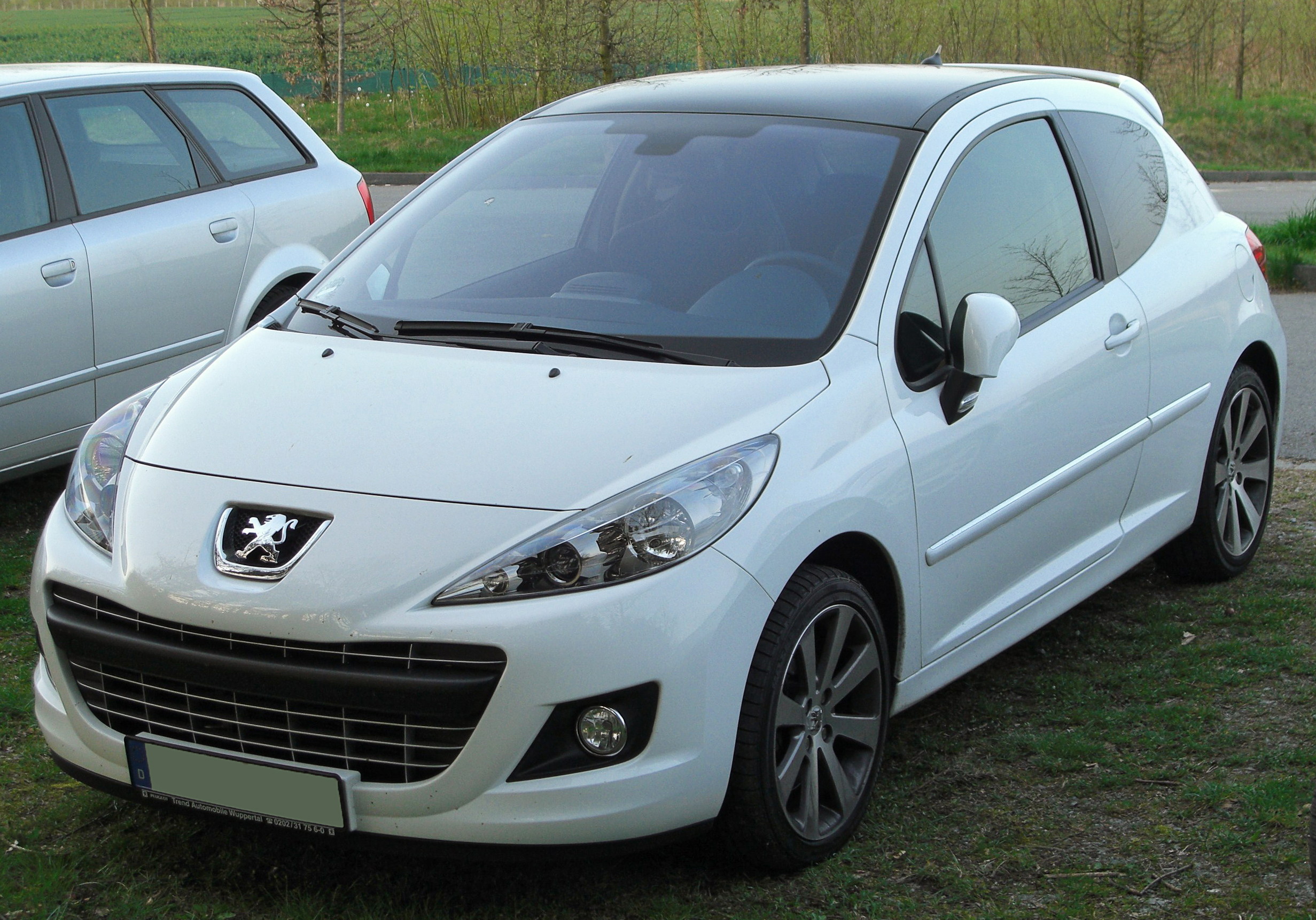 file peugeot 207 rc facelift front wikipedia. Black Bedroom Furniture Sets. Home Design Ideas